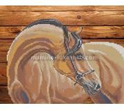 Схема для вышивки бисером Мой конь