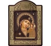 Набор для вышивки бисером в рамке-киоте Богородица Казанская