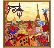 Набор для вышивки бисером Париж. Зазеркалье