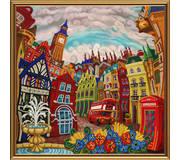 Набор для вышивки бисером Лондон. Зазеркалье