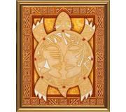 Набор для вышивки бисером Символ мудрости и долголетия