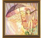 Набор для вышивки бисером Серебряный дождь