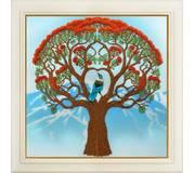 Набор для вышивки нитками в стиле Rococo Дерево жизни