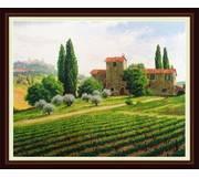 Набор для вышивки крестом Виноградники