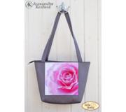 Пошитая сумка для вышивки бисером Роза