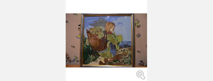 Мальчик с корзинкой