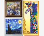 Разнообразие художественных стилей картин для вышивки