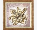 фото: картина для вышивки крестом черепаха