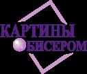 Логотип Картины бисером