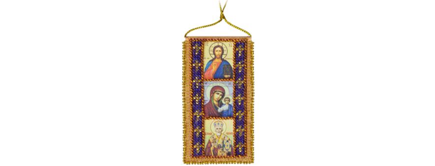 фото: икона-оберег для вышивания бисером от Абрис Арт