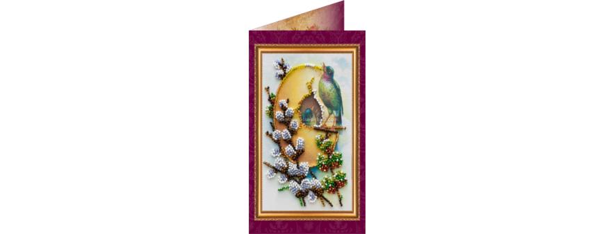 Наборы для вышивания бисером открытки