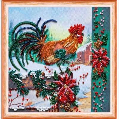 Набор для вышивки бисером Перед Рождеством