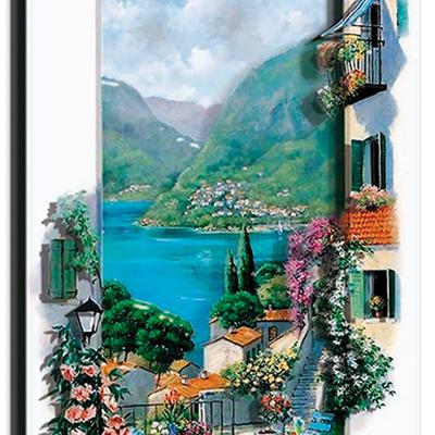 Набор папертоль Итальянские пейзажи. Сицилия