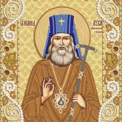 Схема для вышивки бисером Лука Святитель Архиепископ Крымский и Симферопольский