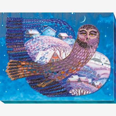 Набор для вышивки бисером На крыльях ночи