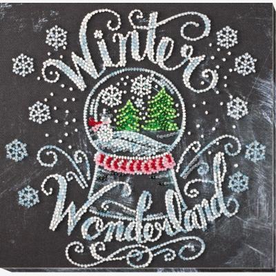 Набор для вышивки бисером Зима чудес