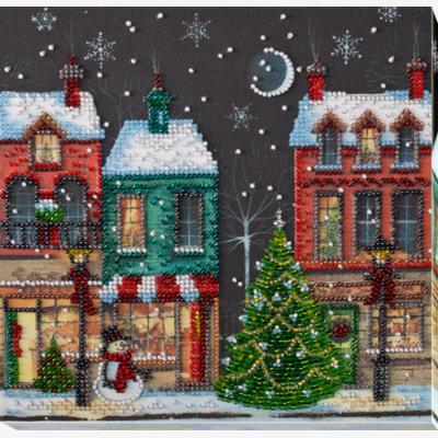 Набор для вышивки бисером Праздничный городок