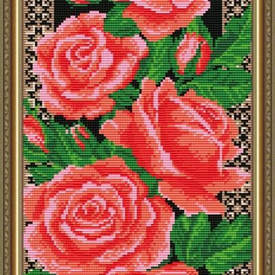 Набор в технике алмазная вышивка Розы