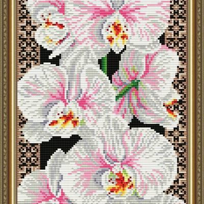 Набор в технике алмазная вышивка Орхидеи