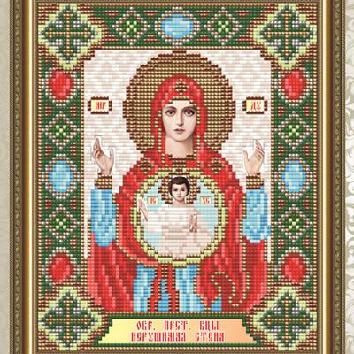 Набор в технике алмазная вышивка Образ Пресвятой Богородицы Нерушимая стена