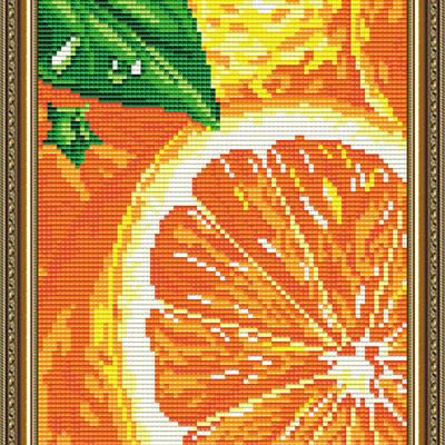 Набор в технике алмазная вышивка Апельсин