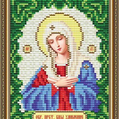 Набор в технике алмазная вышивка Икона Богородица Умиление