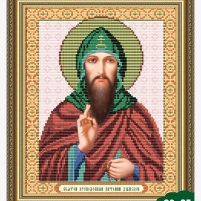 Схема для вышивки бисером Икона Святой Антоний