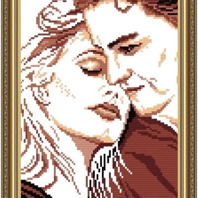 Схема для вышивки бисером Любовь и нежность