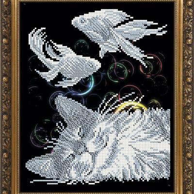 Схема для вышивки бисером Радужный сон