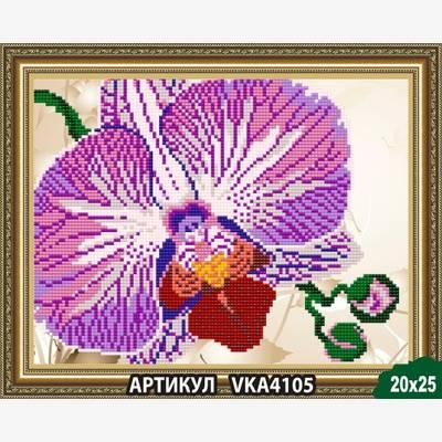 Схема для вышивки бисером Орхидея