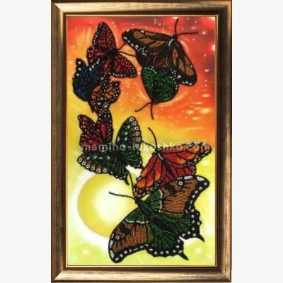 Набор для вышивки бисером Вальс бабочек