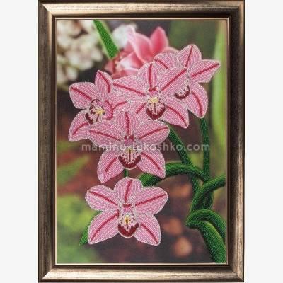 Набор для вышивки бисером Орхидеи