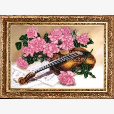 Набор для вышивки бисером Сюита для скрипки