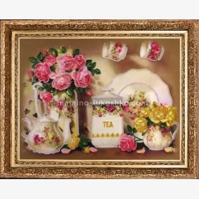 Набор для вышивки бисером Чайный сервиз