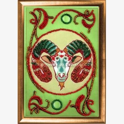 Набор для вышивки бисером Овен