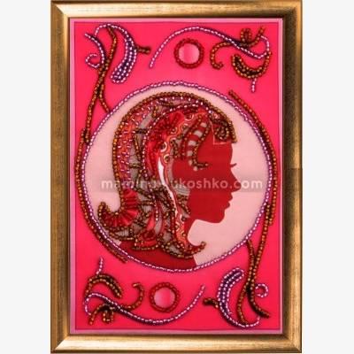Набор для вышивки бисером Дева