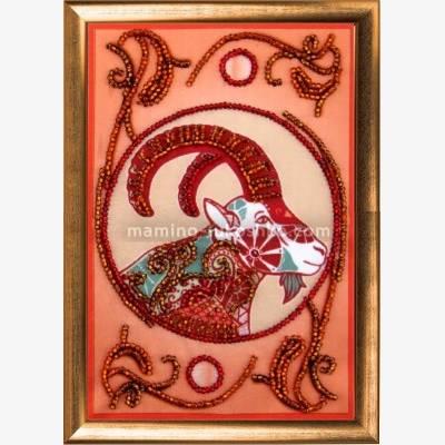 Набор для вышивки бисером Козерог