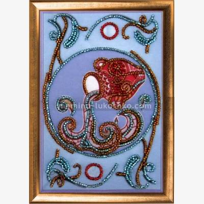 Набор для вышивки бисером Водолей