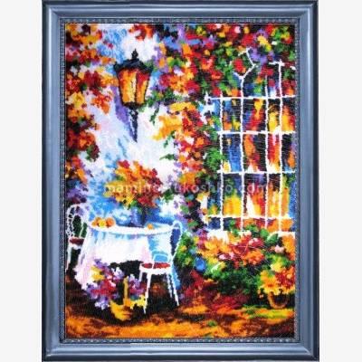 Набор для вышивки бисером Вечерний сад
