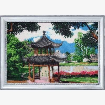 Набор для вышивки бисером Китайский садик