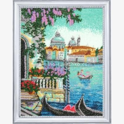 Набор для вышивки бисером Утро в Венеции