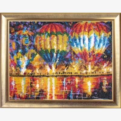 Набор для вышивки бисером Воздушные шары (по картине Л. Афремова)