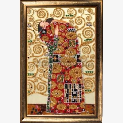 Набор для вышивки бисером Свершение (по мотивам Г. Климта)