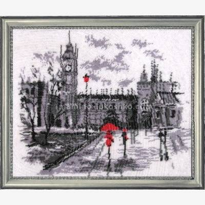 Набор для вышивки бисером Лондон (по картине О. Дарчук)
