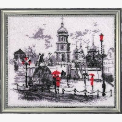 Набор для вышивки бисером Софиевская площадь (по картине О. Дарчук)
