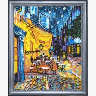 Набор для вышивки бисером Ночное кафе (по мотивам В. Ван Гога) 353 ... b5ef32f51709c