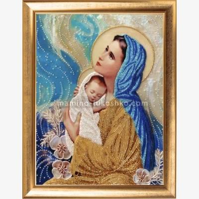 Набор для вышивки бисером Мать и дитя