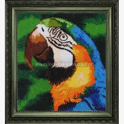 Набор для вышивки бисером Попугай