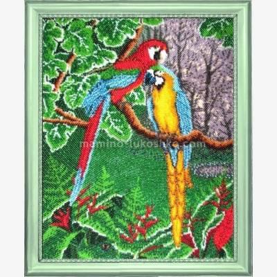 Набор для вышивки бисером Самоцветы джунглей