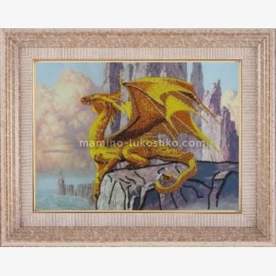 Набор для вышивки бисером Дракон